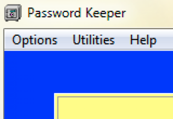 скриншот Password Keeper
