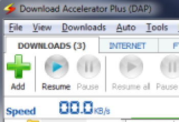 скриншот Download Accelerator Plus