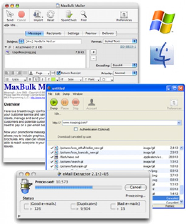 EMail extractor is a very powerful and reliable tool to extract e-mail