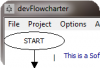 фото devFlowcharter  1.9.2 Build 18