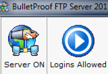 скриншот BulletProof FTP Server