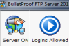 фото BulletProof FTP Server  2011.1.0.73