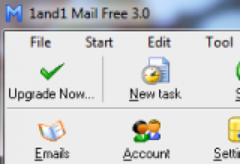 скриншот 1and1 Mail (formerly EMail Assistant)