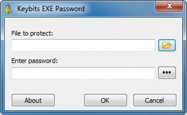 скриншот Keybits EXE Password. фото Keybits EXE Password.