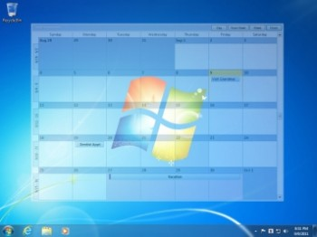 скриншот Outlook on the Desktop