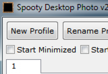 скриншот Spooty Desktop Photo