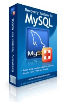 скриншот Recovery Toolbox for MySql