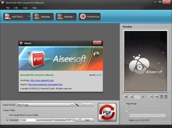 скриншот Aiseesoft PDF to Text Converter