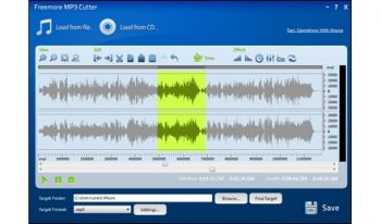 скриншот Freemore MP3 Cutter